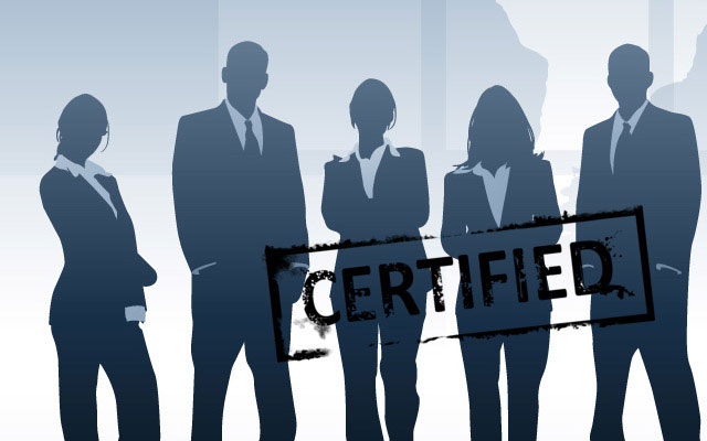 Insist on CertifiedI.T. Professionals