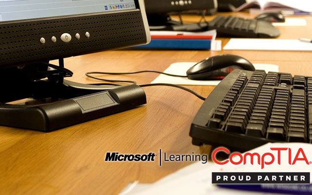 Microsoft and CompTIACourses Now Available